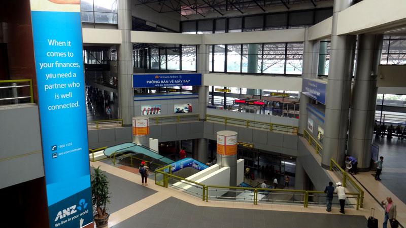 Aeroporto de Hanói, Vietnã (Foto: Esse Mundo É Nosso)