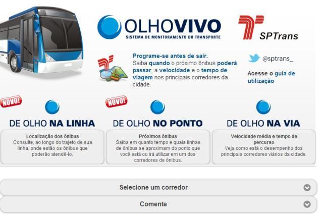 Olho Vivo: Como rastrear ônibus em São Paulo (Foto: Divulgação)