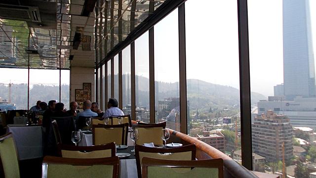 Restaurante Giratorio em Santiago (Foto: Esse Mundo é Nosso)