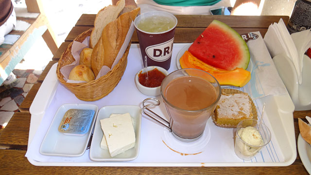 Café da manhã no Parque Lage, Rio de Janeiro (Foto: Esse Mundo É Nosso)