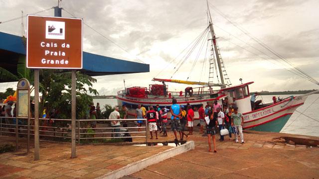 Cais da Praia Grande, Maranhão (Foto: Esse Mundo É Nosso)