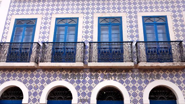 Rua Portugal - Centro Histórico de São Luís, Maranhão (Foto: Esse Mundo É Nosso)