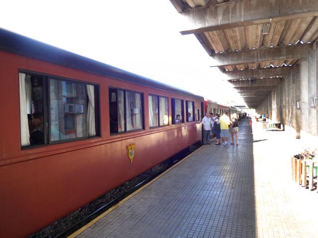 Passeio de Trem em Curitiba (Foto: Esse Mundo É Nosso)