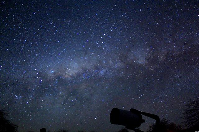 Céu no Atacama (Foto: Arquivo Pessoal)
