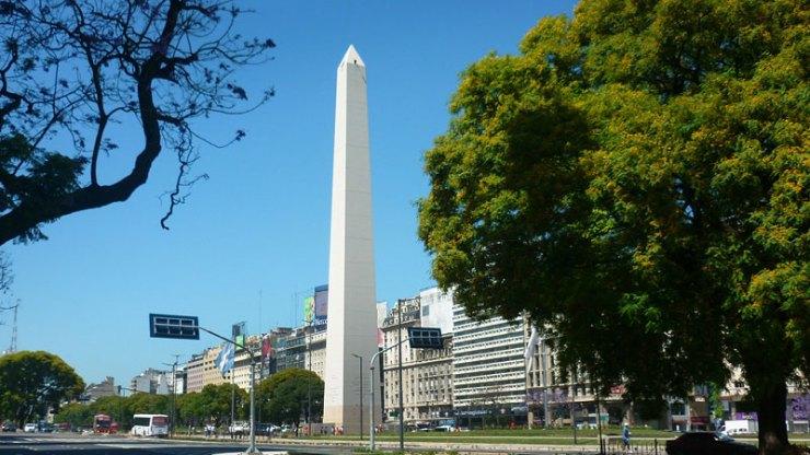 Obelisco - Buenos Aires a pé (Foto: Esse Mundo É Nosso)