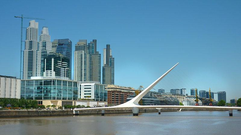 Puente de la Mujer - Buenos Aires a pé (Foto: Esse Mundo É Nosso)