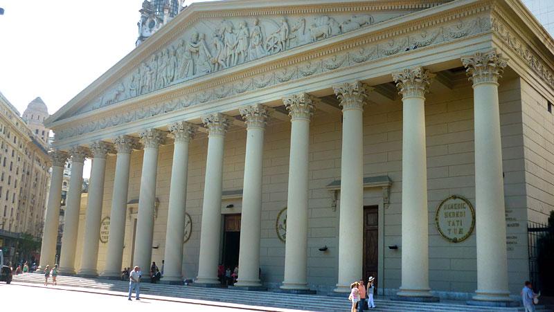 Catedral Metropolitana - Buenos Aires a pé (Foto: Esse Mundo É Nosso)