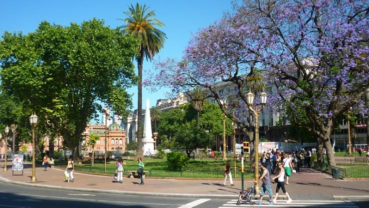 Mitos sobre Buenos Aires - Plaza de Mayo (Foto: Esse Mundo É Nosso)