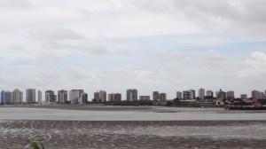 A incrível variação de maré no Maranhão (Foto: Esse Mundo É Nosso)