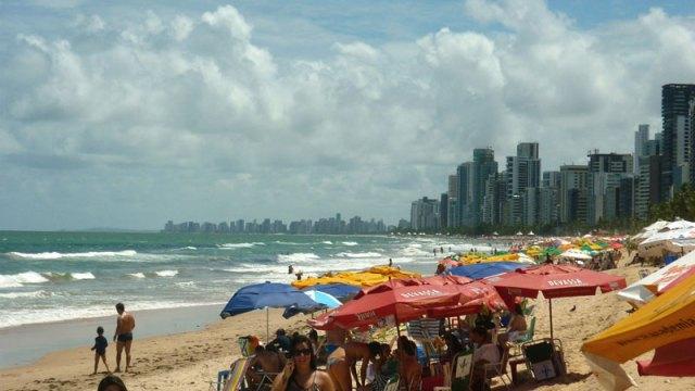 Praia de Boa Viagem, Recife (Foto: Esse Mundo É Nosso)