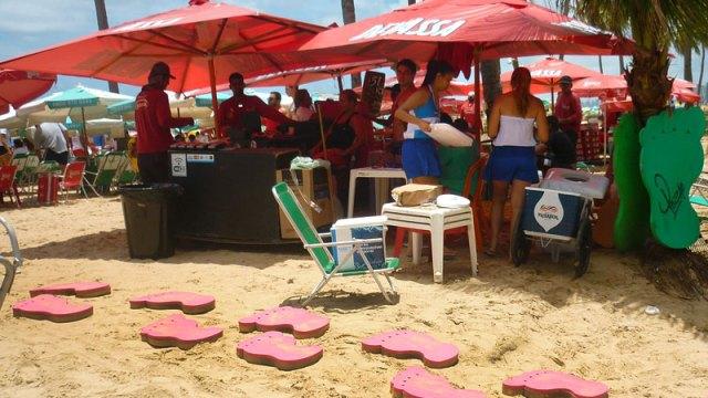 Barra do Pezão, Praia de Boa Viagem, Recife (Foto: Esse Mundo É Nosso)