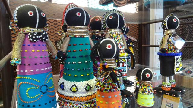 Artesanato em Johannesburg (Foto: Esse Mundo É Nosso)