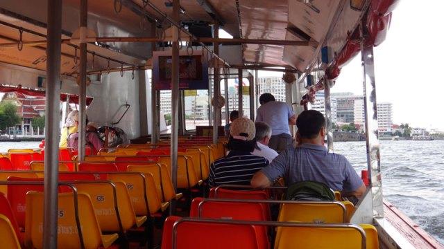 Barco para Khaosan Road, Bangkok (Foto: Esse Mundo É Nosso)