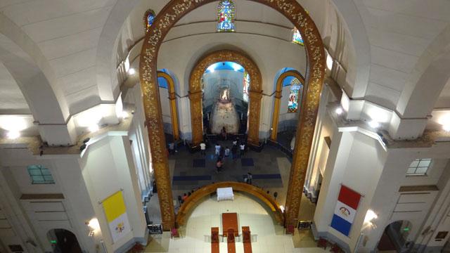 O que fazer em Assunção: Santuário da Virgem de Caacupé (Foto: Esse Mundo É Nosso)