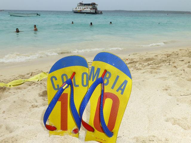 Playa Blanca - Cartagena, Colômbia (Foto: Esse Mundo É Nosso)