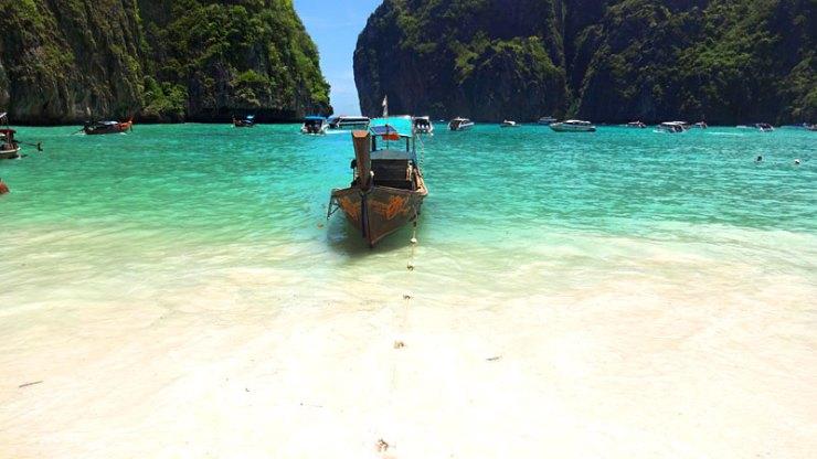 Praias do Sudeste Asiático - Maya Bay, Tailândia (Foto: Esse Mundo É Nosso)