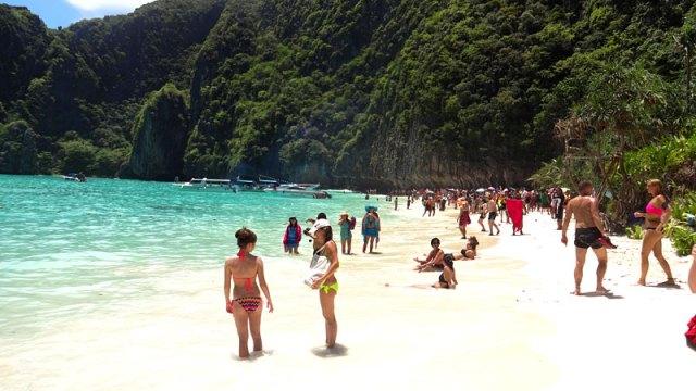 Maya Bay, Tailândia (Foto: Esse Mundo É Nosso)