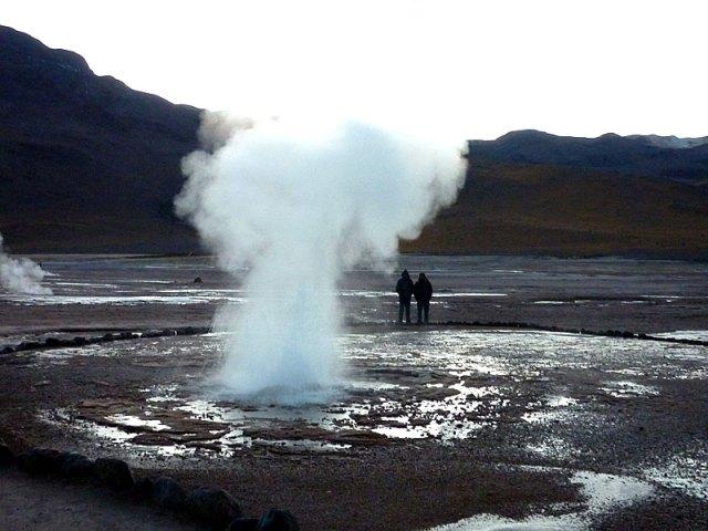 Geysers del Tatio no Deserto do Atacama   Foto: Esse Mundo é Nosso