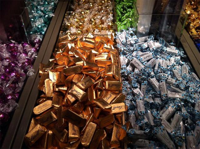 Loja Lindt no Brasil, Shopping Pátio Higienópolis (Foto: Esse Mundo É Nosso)