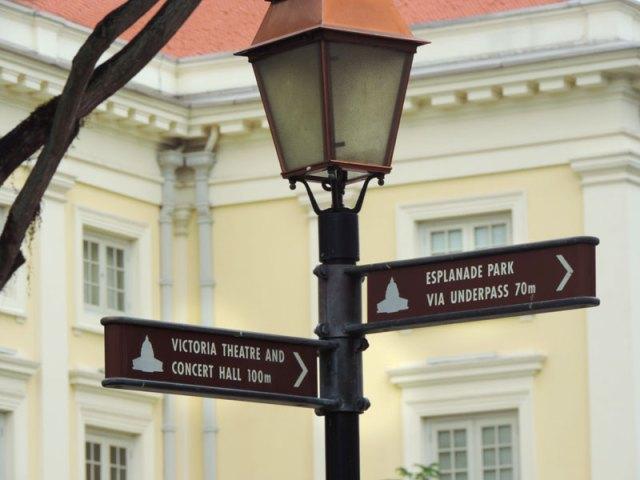 O que fazer em Cingapura: Distrito Colonial (Foto: Esse Mundo É Nosso)