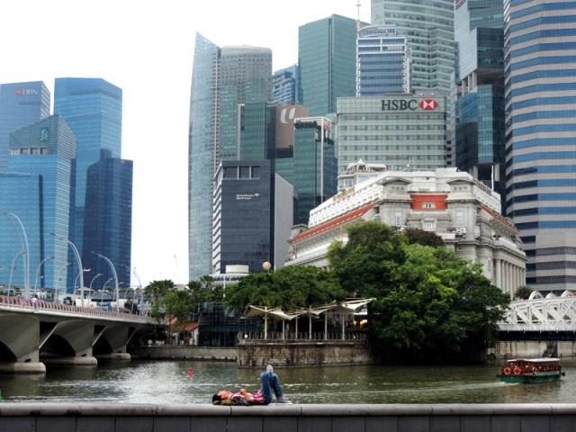 O que fazer em Cingapura: Singapore River (Foto: Esse Mundo É Nosso)