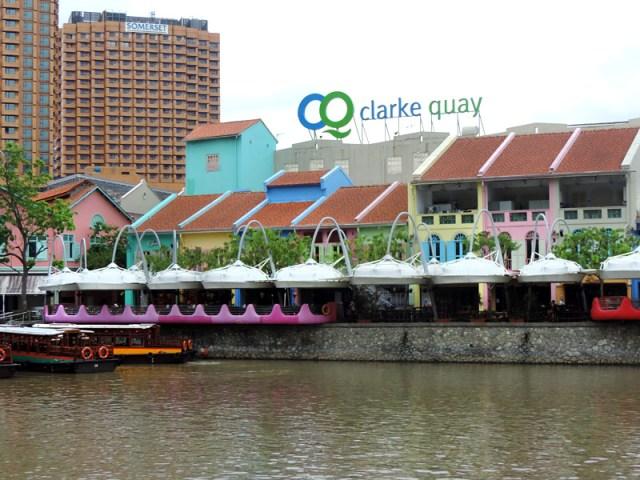 O que fazer em Cingapura: Clarke Quay (Foto: Esse Mundo É Nosso)