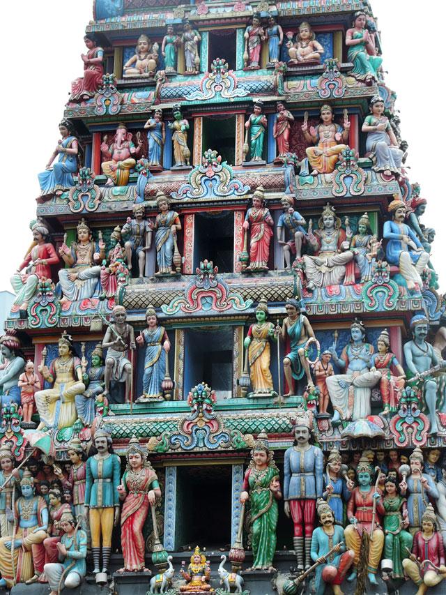 O que fazer em Cingapura: Sri Mariamman (Foto: Esse Mundo É Nosso)