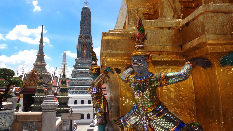 Turismo em Bangkok: Wat Phra Kaew (Foto: Esse Mundo É Nosso)
