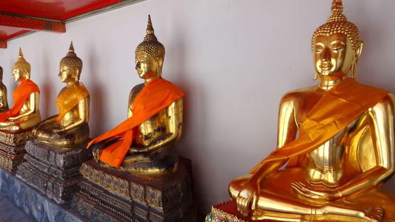 Turismo em Bangkok: Wat Pho (Foto: Esse Mundo É Nosso)