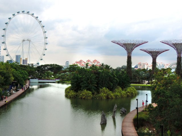 Gardens By The Bay em Cingapura (Foto: Esse Mundo É Nosso)