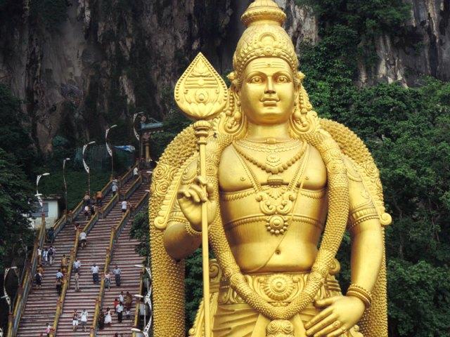 O que fazer em Kuala Lumpur: Batu Caves (Foto: Esse Mundo É Nosso)