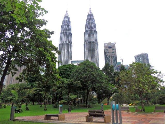 Kuala Lumpur City Centre, Malásia (Foto: Esse Mundo É Nosso)