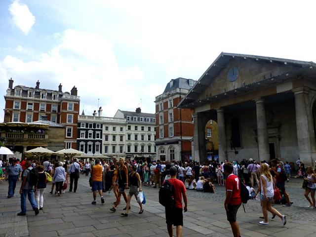 Convent Garden em Londres (Foto: Esse Mundo é Nosso)