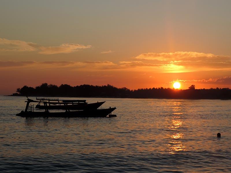 Gili Trawangan, Indonésia (Foto: Esse Mundo É Nosso)