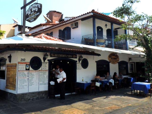 Onde comer em Búzios: Restaurante do David (Foto: Esse Mundo É Nosso)