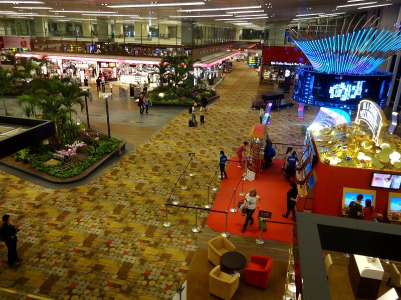 Aeroporto de Cingapura (Foto: Esse Mundo É Nosso)