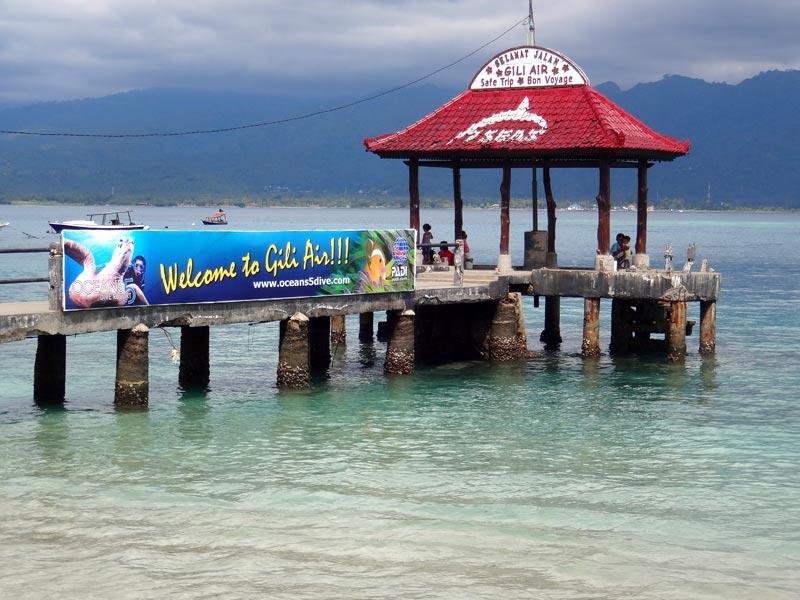 Gili Air, Indonésia (Foto: Esse Mundo É Nosso)