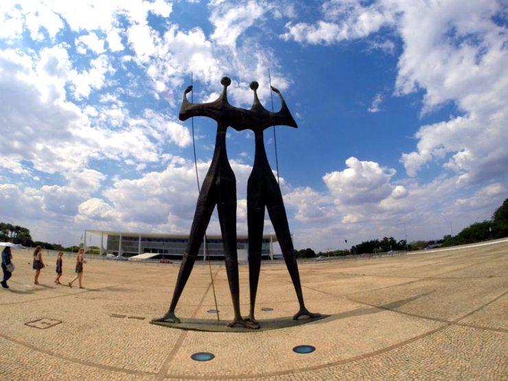 O que fazer em Brasília - Praça dos 3 Poderes (Foto: Esse Mundo É Nosso)