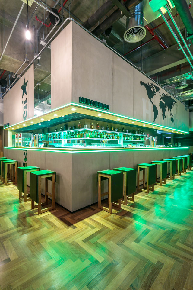 Living Heineken Aeroporto de Guarulhos (Foto: Divulgação)