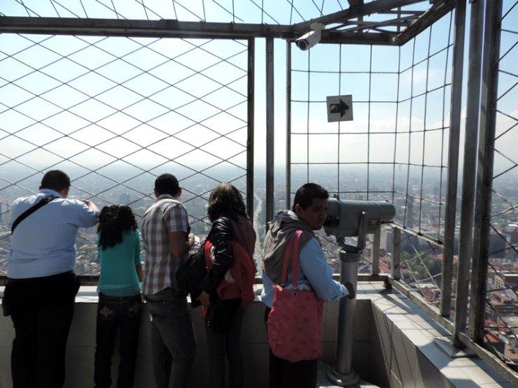 Mirante na Cidade do México (Foto: Esse Mundo é Nosso)