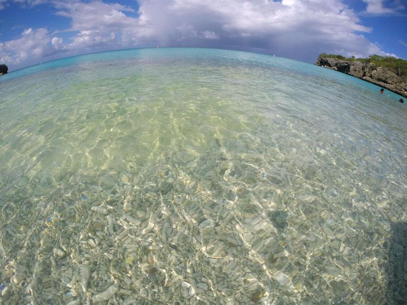 Praias de Curaçao: Kenepa Grandi (Foto: Esse Mundo É Nosso)