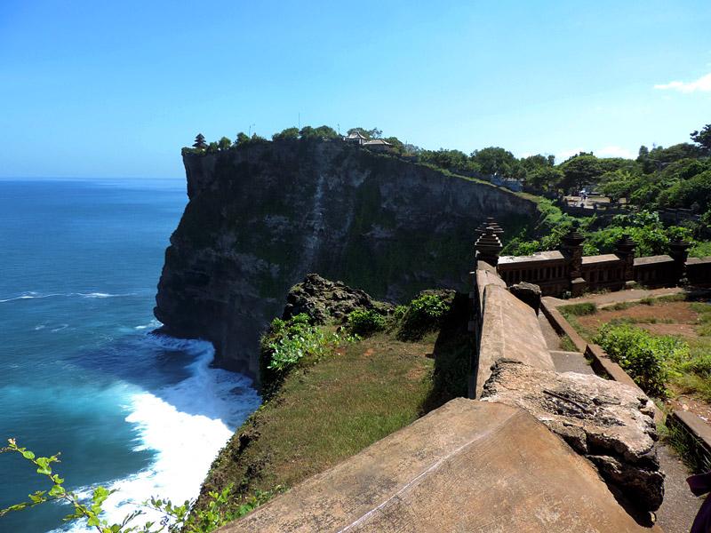 Templo de Uluwatu, Bali (Foto: Esse Mundo É Nosso)