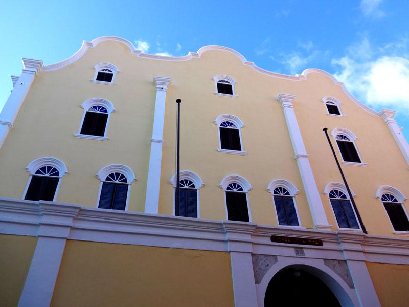 Sinagoga Mikvé Israel-Emanuel - Willemstad, Curaçao (Foto: Esse Mundo É Nosso)