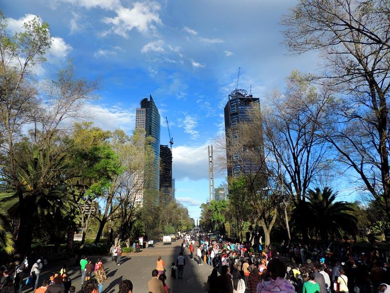 Bosque Chapultepec, Cidade do México (Foto: Esse Mundo É Nosso)