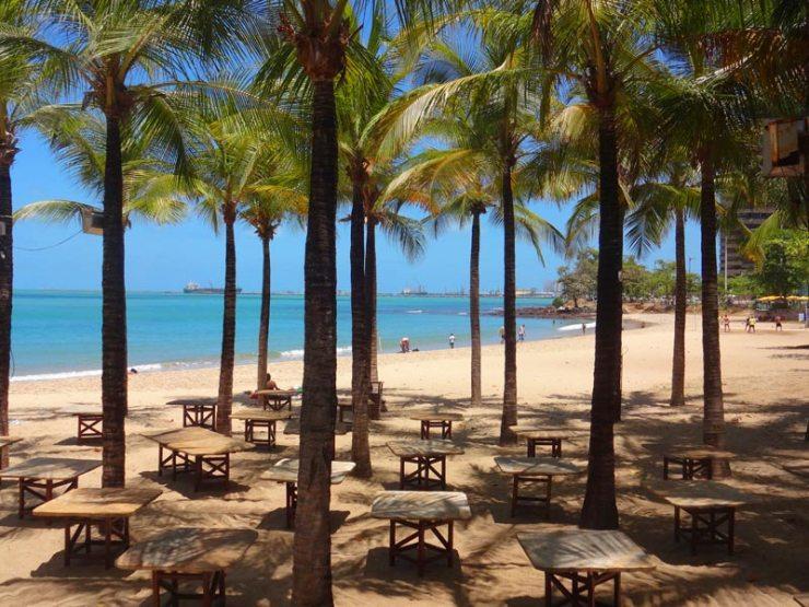 Praias de Fortaleza: Praia do Meireles (Foto: Esse Mundo É Nosso)