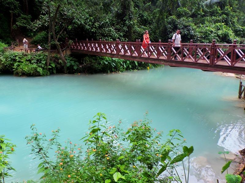 Cachoeiras de Luang Prabang: Kwang Si (Foto: Esse Mundo É Nosso)