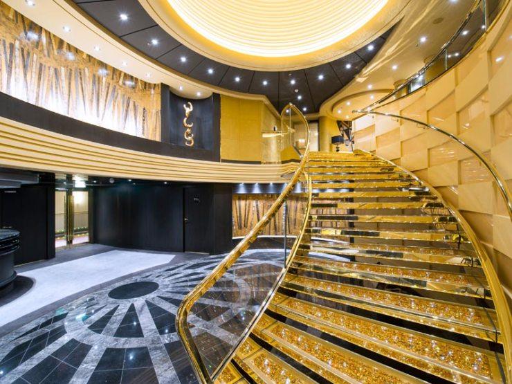 Top Sail Lounge, MSC Yacht Club (Foto: Divulgação)