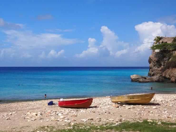 Melhores Praias de Curaçao: Playa Piskado (Foto: Esse Mundo É Nosso)