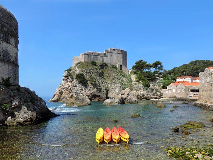 O que fazer em Dubrovnik, Croácia: Lovrijenac (Foto: Esse Mundo É Nosso)