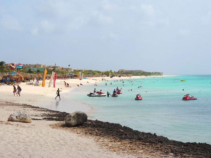 Praias de Aruba - Eagle Beach (Foto: Esse Mundo É Nosso)